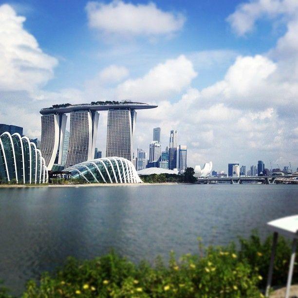 View of Marina Bay #bestofcity