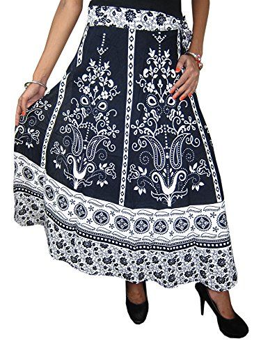 Indian Wrap Skirt Printed Cotton Gypsy Sarong Wrap Around Long Wraparound Skirts Mogul Interior http://www.amazon.com/dp/B00Y0QFQQS/ref=cm_sw_r_pi_dp_7T7Bvb1PGV6AR