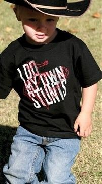 Cinch Toddler I Do My Own Stunts T Shirt 16 95 Infant And