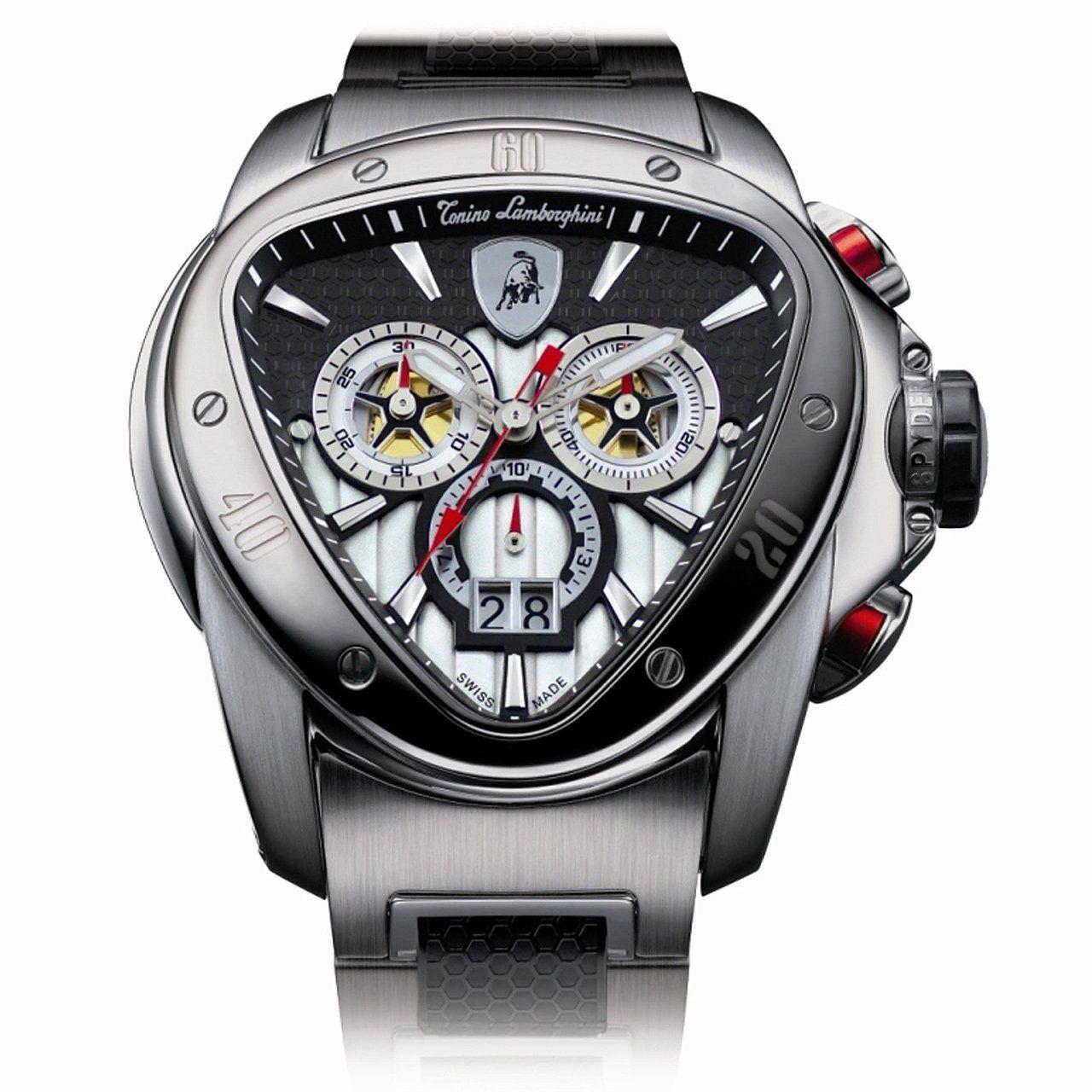 7d0bbd55f390 Tonino Lamborghini Spyder Chronograph 1000 Watch Relojes Hombre