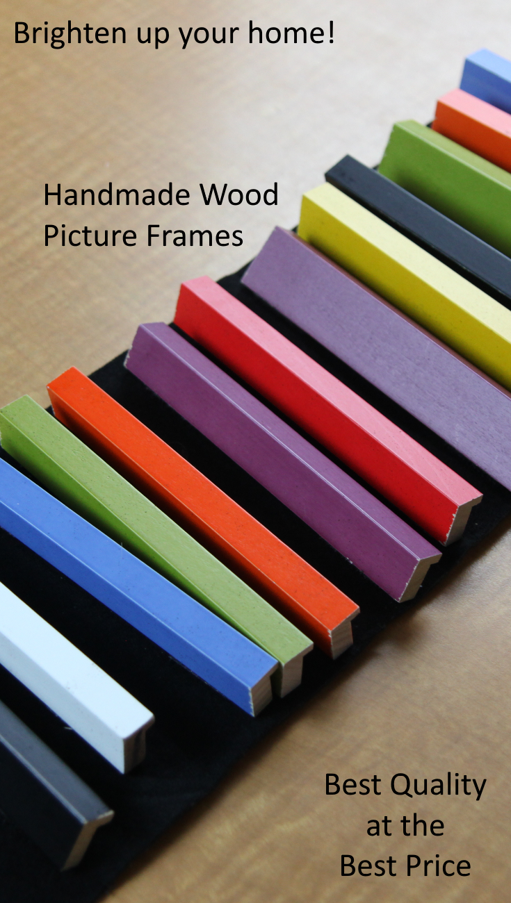 Colorful Handmade Wood Picture Frames-- Best Quality at the Best ...