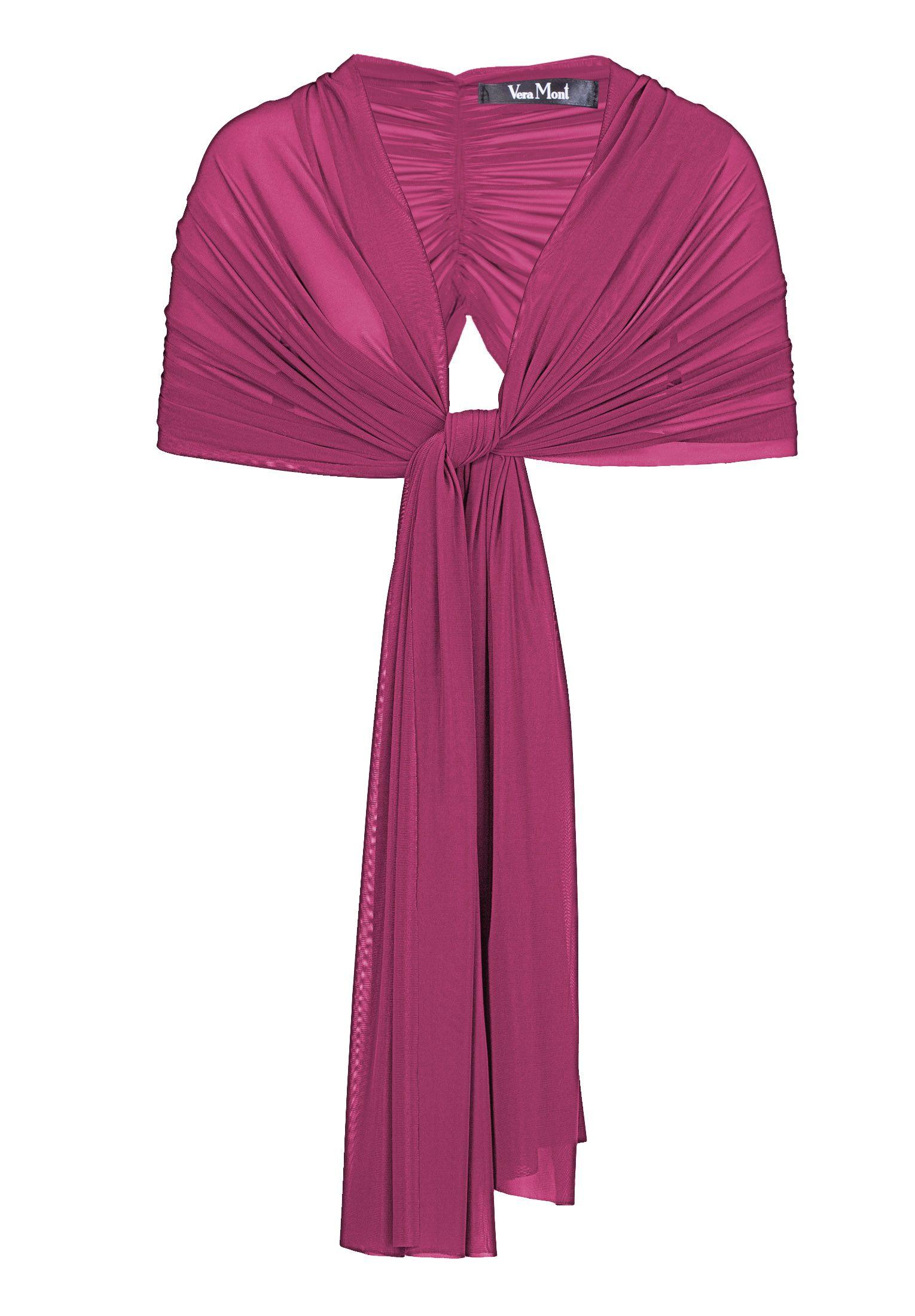 Chiffon-Stola von Vera Mont | Farbenfrohe Hochzeit | Pinterest