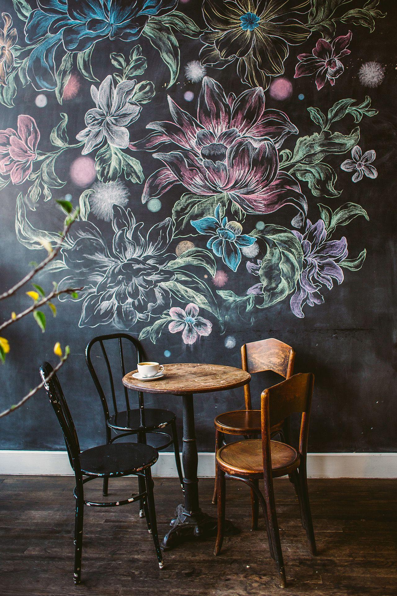 Chalk Wall Decor Chalkboard Wall Home
