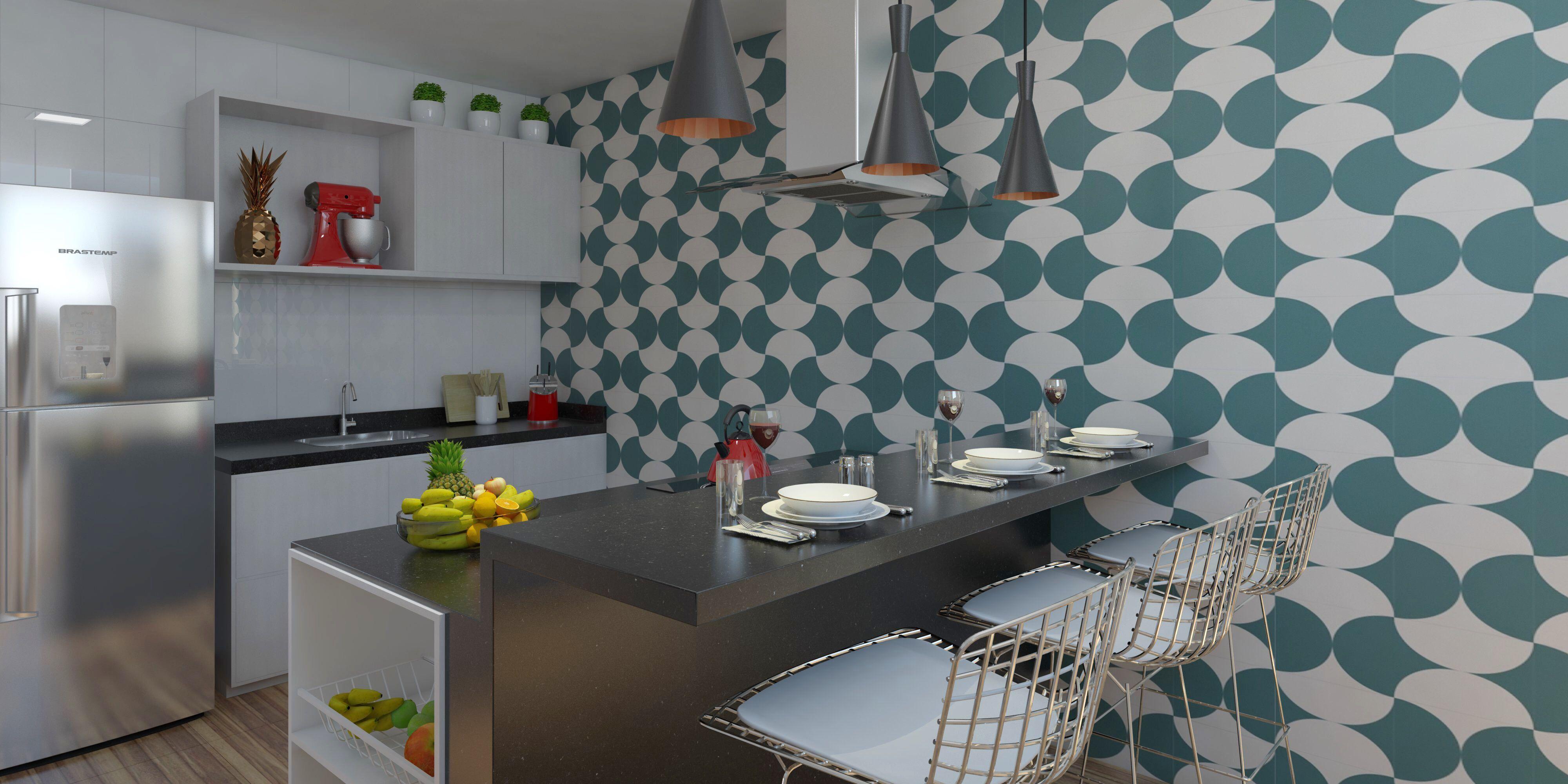 Cozinha Americana Decora O Arquitetura Revestimento Coifa