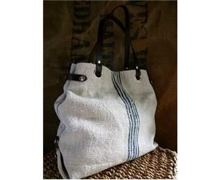 Love This Hungarian Antique Grain Sack Carry Bag