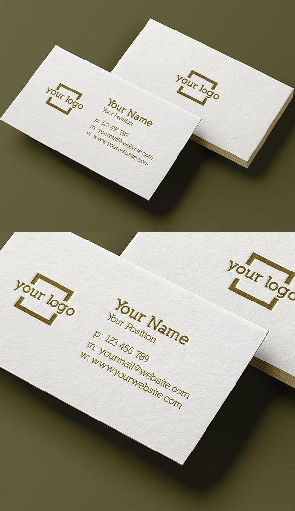 Minimalist Business Card Template | Business card & Letterhead ...