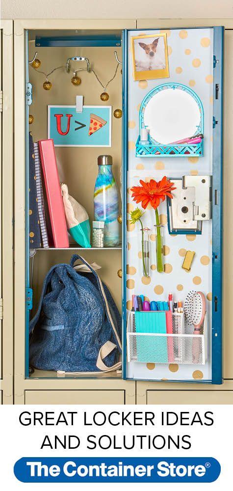 Locker Decoration Organization Ideas How To Organize Your Locker School Locker Organization School Lockers Diy Locker