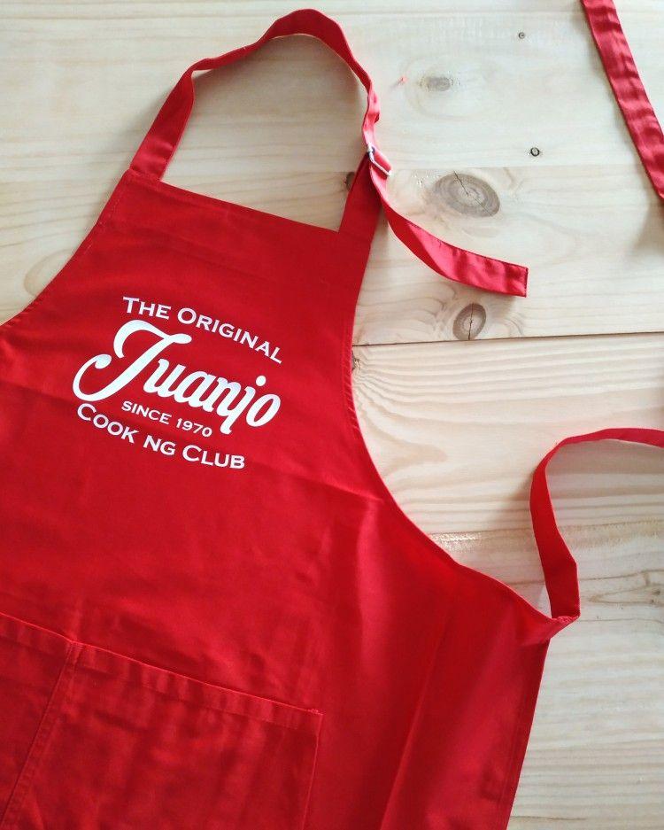 Tablier Cooking Club Personnalise