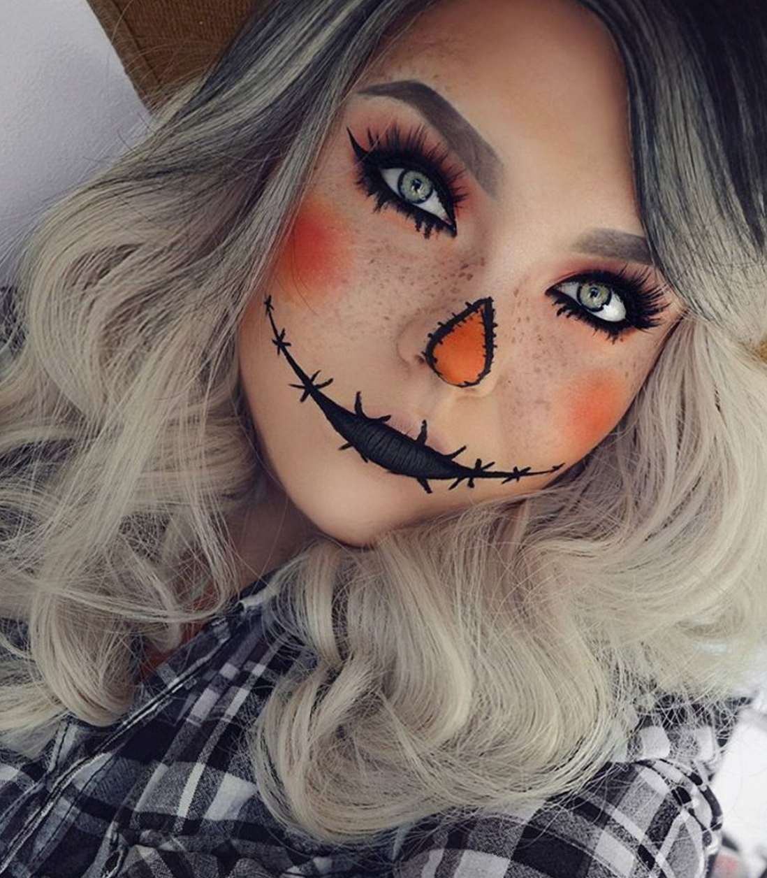 Easy Halloween Makeup Tutorial in 2019 Cute