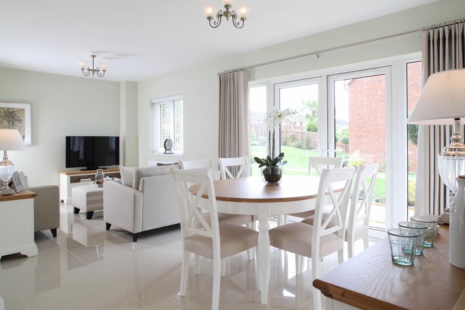 Our convivial open plan layouts recognise the vital link the kitchen ...
