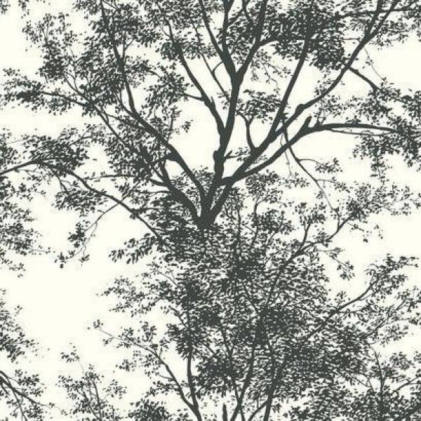 Tree Silhouette YV9012 Wallpaper York Wallcoverings