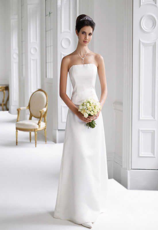 Hochzeitskleider-Schlicht-Lang-04.jpg (550×800) | Wedding Dresses ...