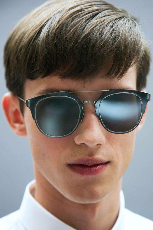 6452f785bf292 Yulian Antukh - Backstage at Dior Homme Spring Summer 2015 Sunglasses 2016