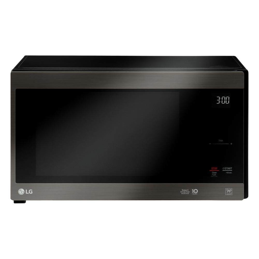 Lg Electronics Neochef 1 5 Cu Ft Countertop Microwave In Black