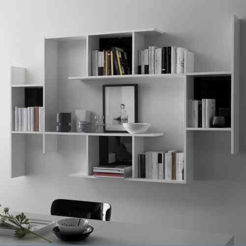 La bibliothèque de design un meuble fonctionnel et esthétique