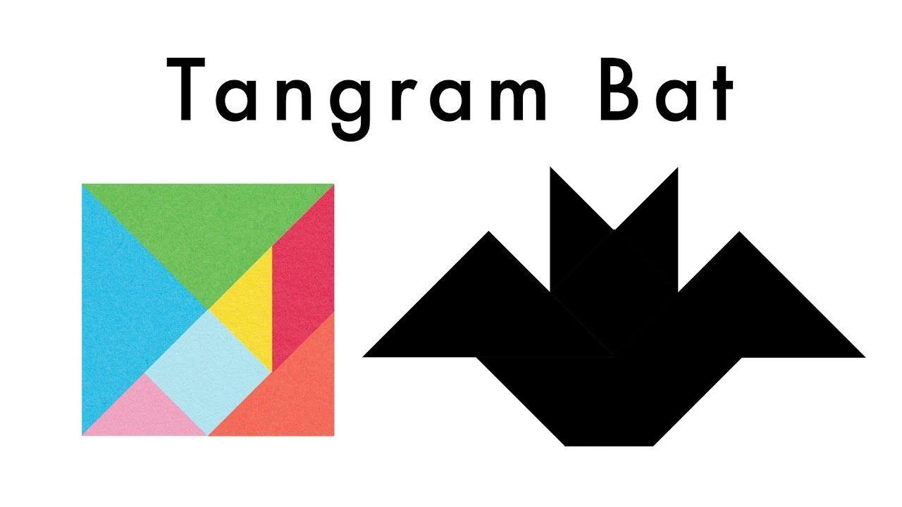 Bat Tangram Puzzle