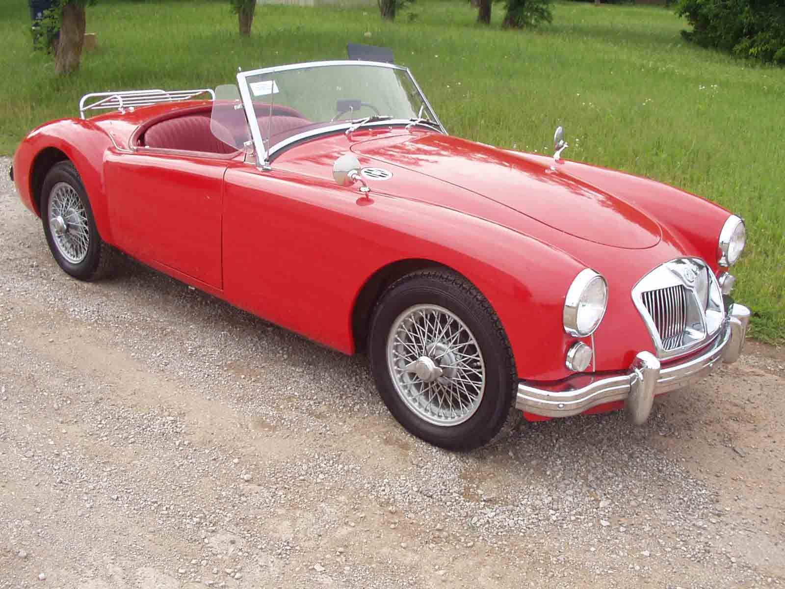 1960 MG It might be a death trap, but it was