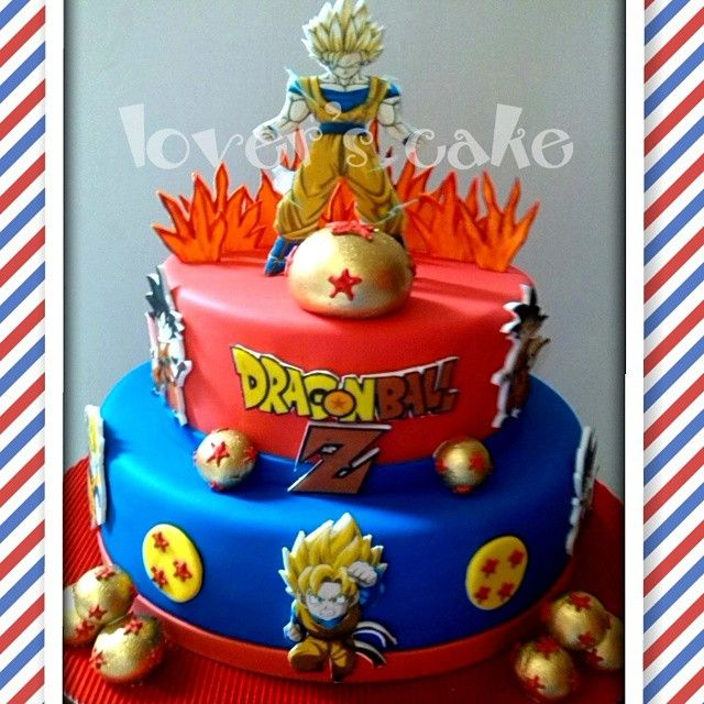 dragon ball z cakes Buscar con Google Kids cakes Pinterest