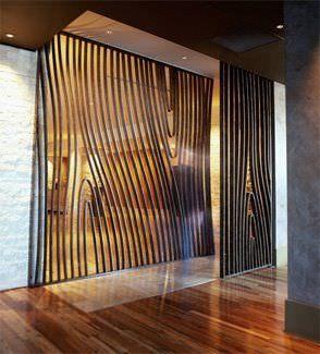 Mur rideau en panneau d coratif perfor summer heat abiya mashrabiya - Panneau perfore decoratif ...