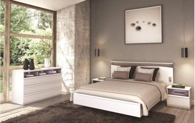 Chambre Pluriel Finition Blanc Neige Mobilier De Salon Monsieur Meuble Meuble Celio