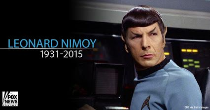 RIP Spock... Leonard Nimoy has passed away, but we honor him for the legacy he has left behind for us.