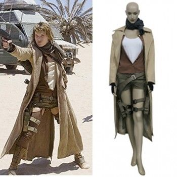 Resident Evil Extinction Movie Alice Cosplay Costume Resident