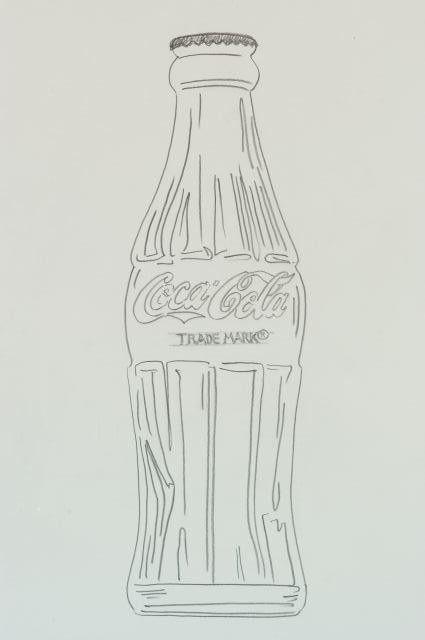 Soda Bottle Drawing