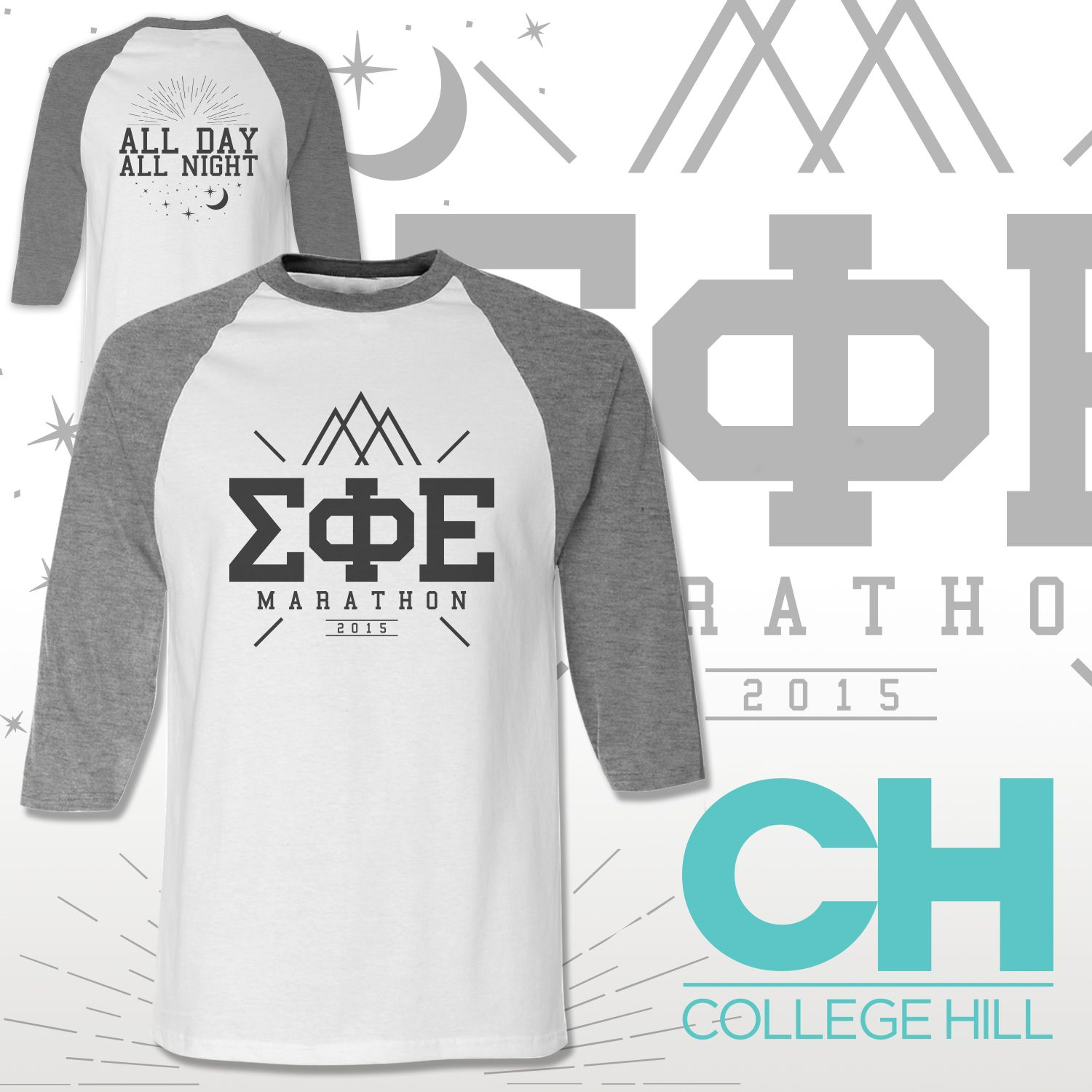 ec3796b546a Because Fraternities need clothes too! Baseball tees designed by College  Hill Custom Threads sorority and fraternity greek apparel and products!