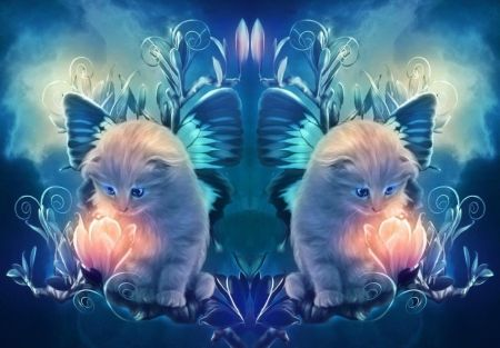 Magic Flower - Cats & Animals Background Wallpapers on Desktop ...