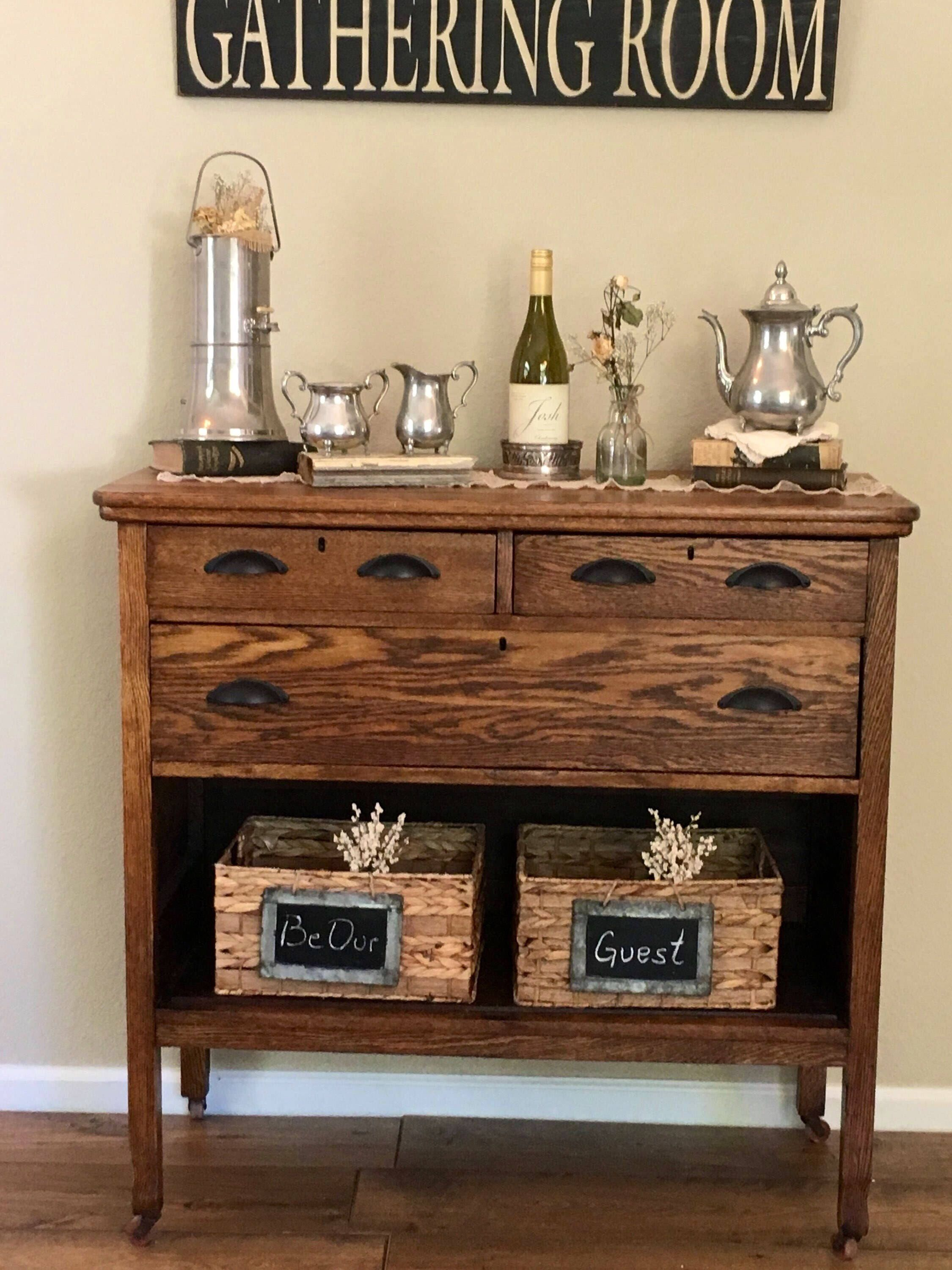 vintage entry table. Buffet Sideboard Entry Table Bar Farmhouse Country Chic Contemporary Wine Cabinet Vintage Antique And Just Plain Timeless