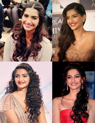 18 Sonam Kapoor HairStyles With Names | Hairstyles | Pinterest ...