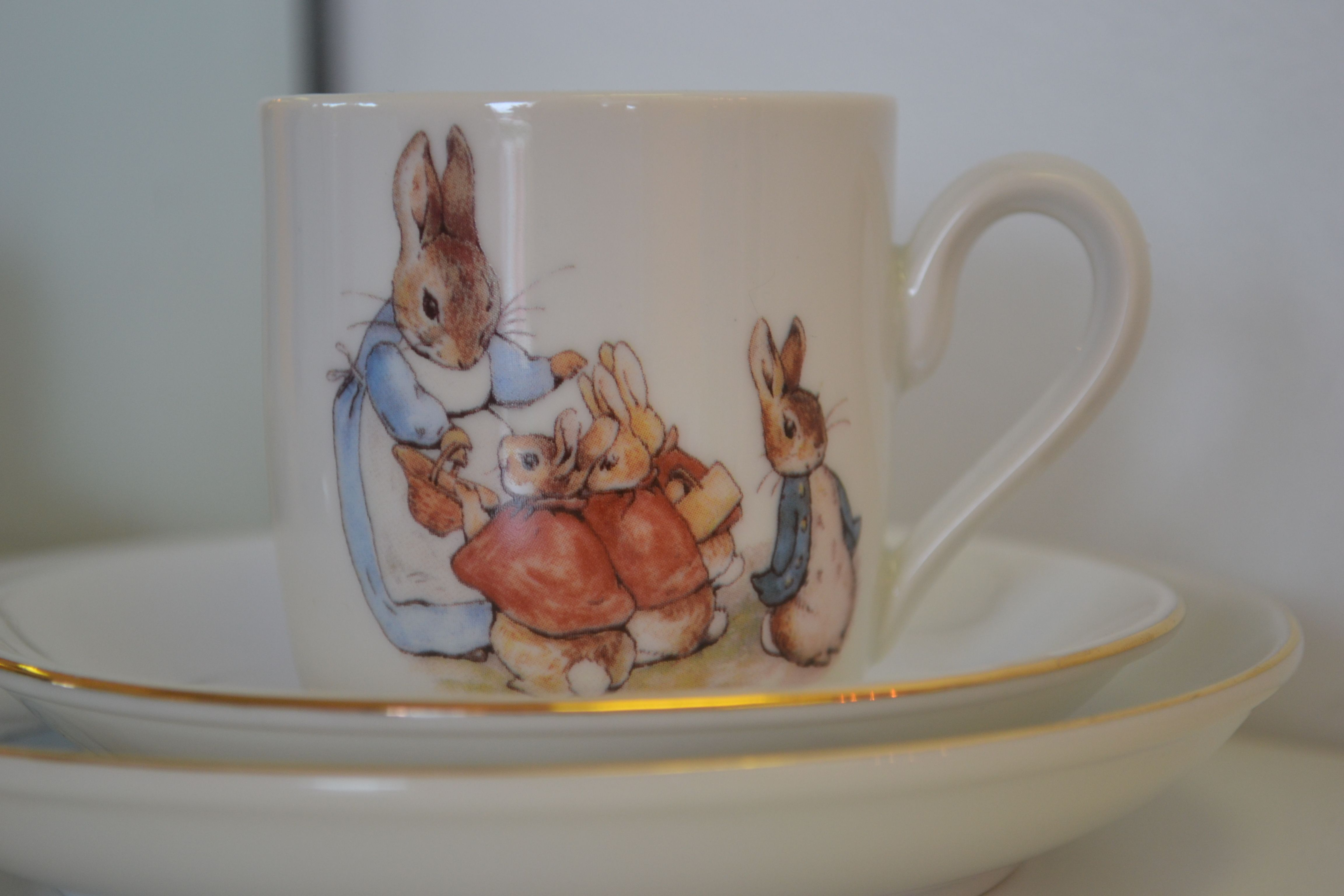 Easter bunny gifts beatrice potter porcelain polkadots and easter bunny gifts beatrice potter porcelain negle Image collections