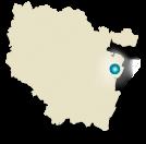 Localisation du Plan Incliné de Saint-Louis Arzviller