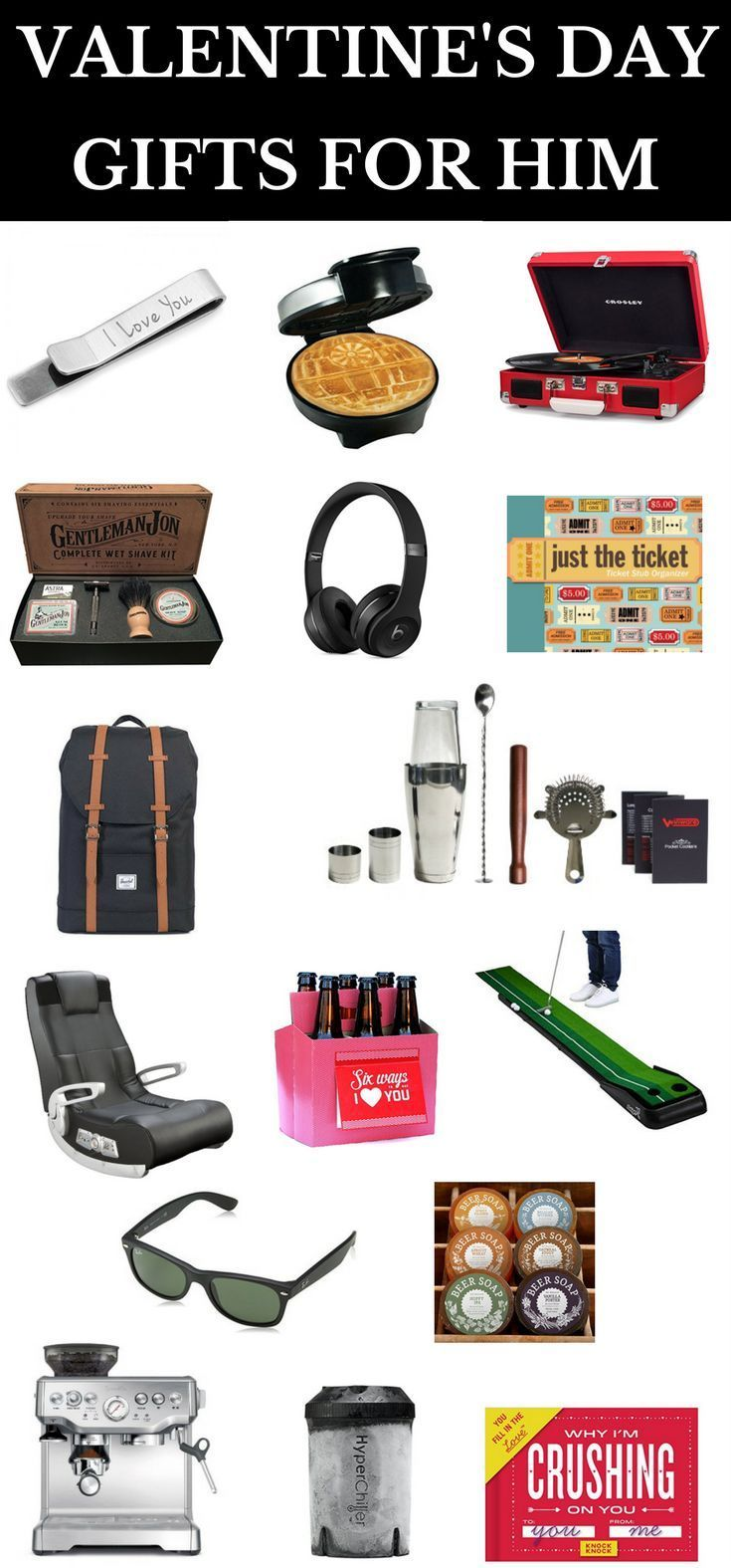 Valentine S Day Gifts For Him 36 Creative Valentine S Day Gift