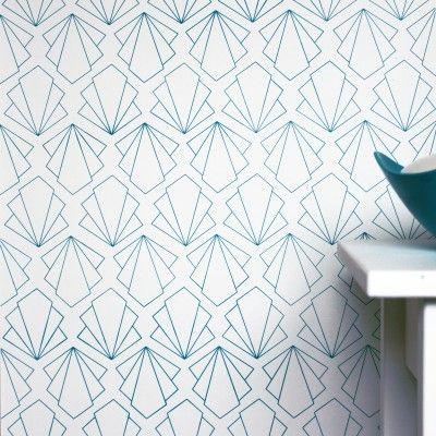 Art Deco fan wallpaper