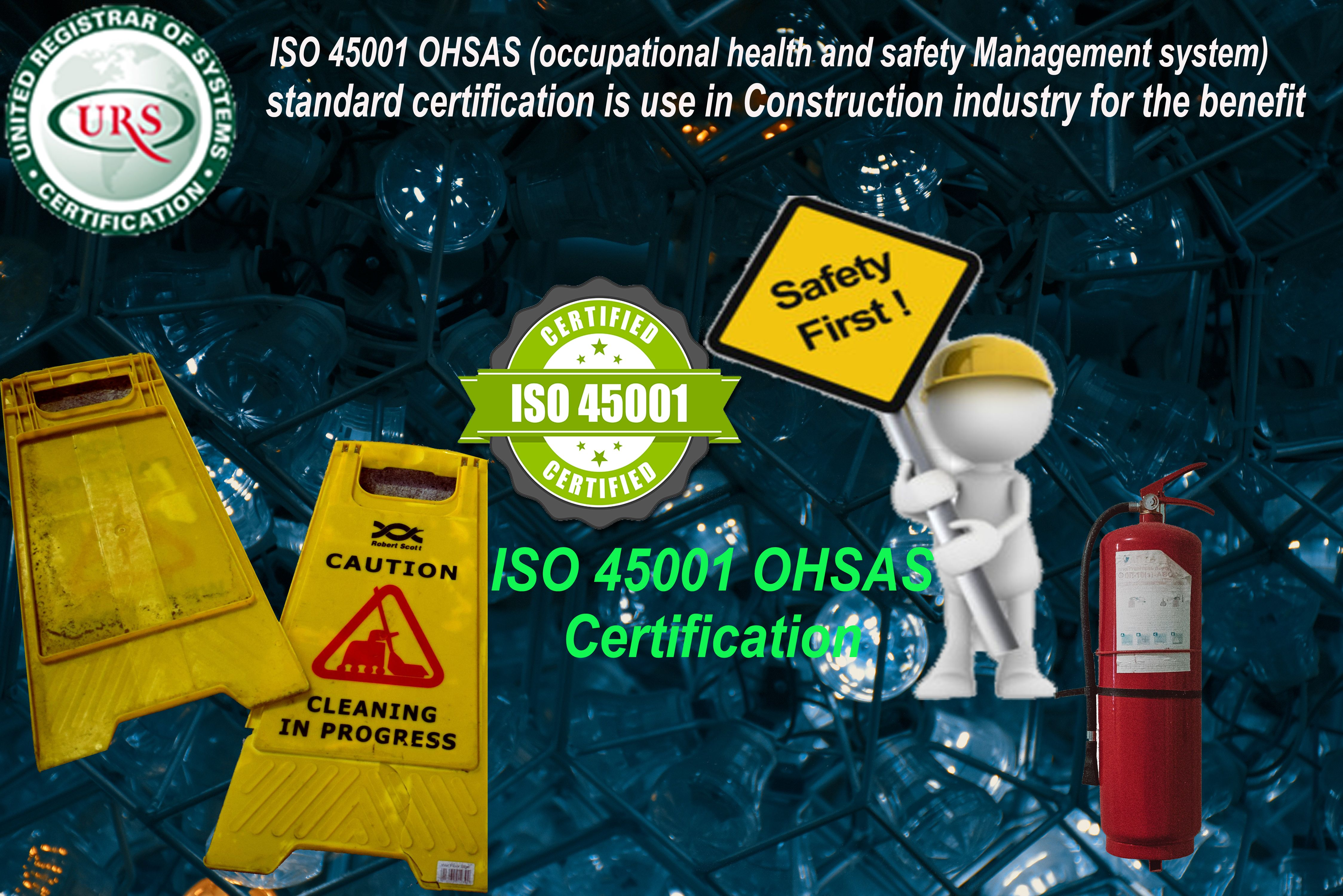 ISO 45001 OHSAS (occupational health and safety Management