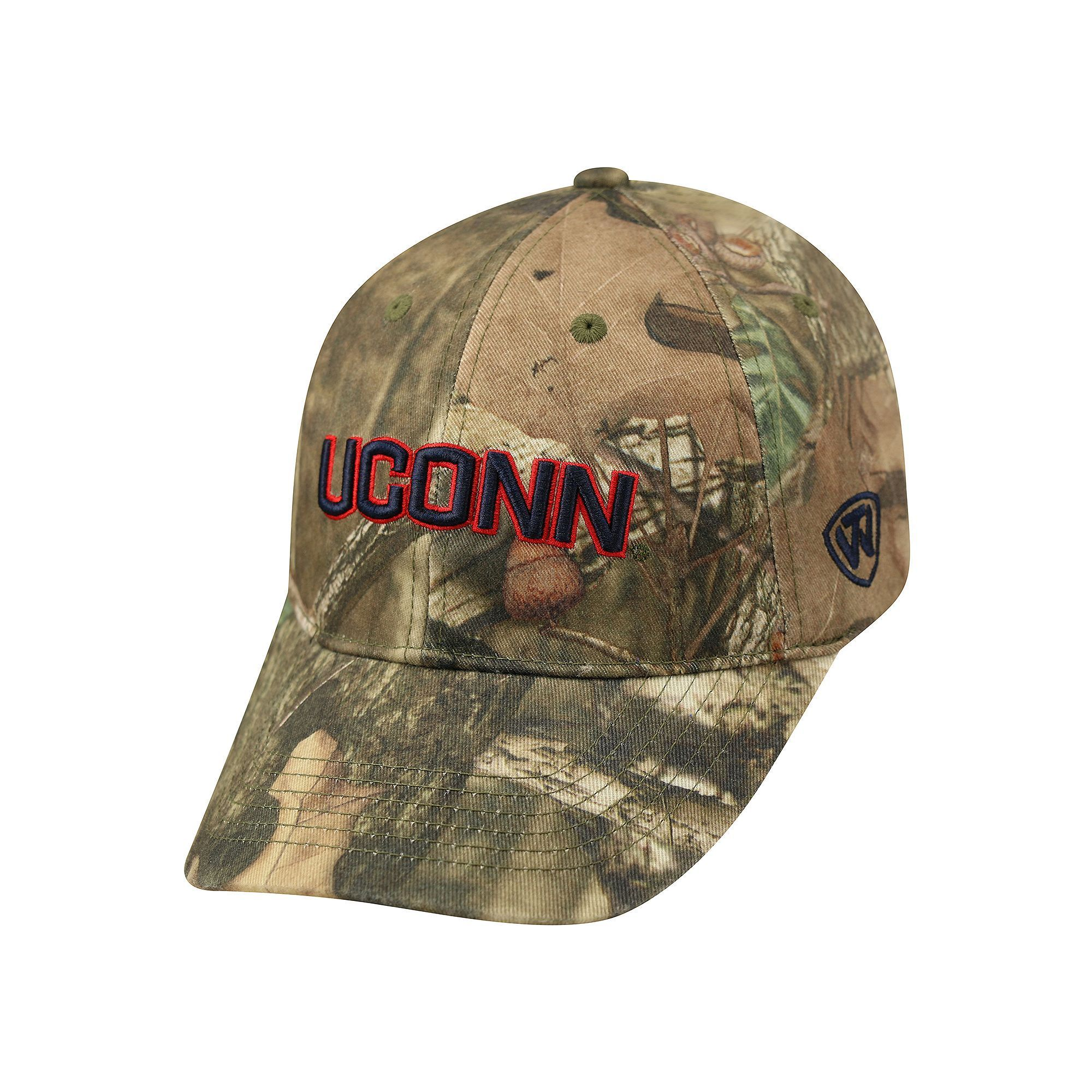 purchase cheap 411f4 cba7c Adult Top of the World UConn Huskies Resistance Mossy Oak Camouflage  Adjustable Cap, Green Oth