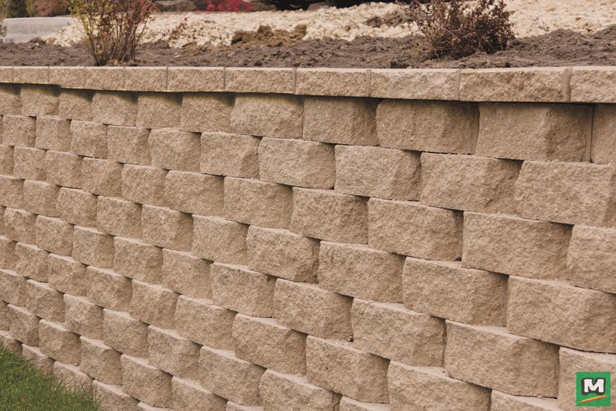 Greet Your Guests In Style With Denver Beveled Retaining Wall Block Build Anything From An Ela Retaining Wall Blocks Retaining Wall Block Backyard Inspiration