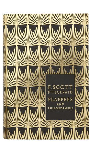 Coralie Bickford-Smith book cover for F. Scott Fitzgerald's Flappers and Philosophers