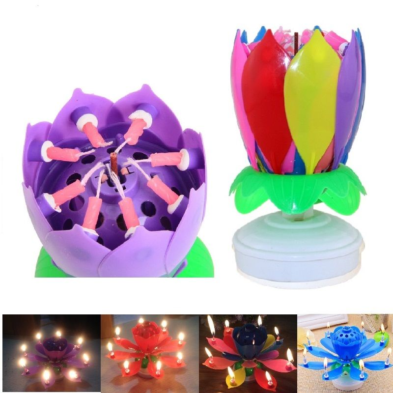 Cheap Candle Gift Buy Quality Electronic Birthday Candles Directly From China Lotus Suppliers 7 Parttens Art