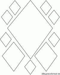 Resultado De Imagen Para Ovalo Y Rombo Para Colorear Pame