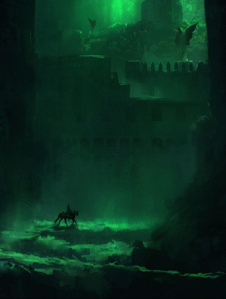 my wind dances with me fantasy art engine the emerald gate by