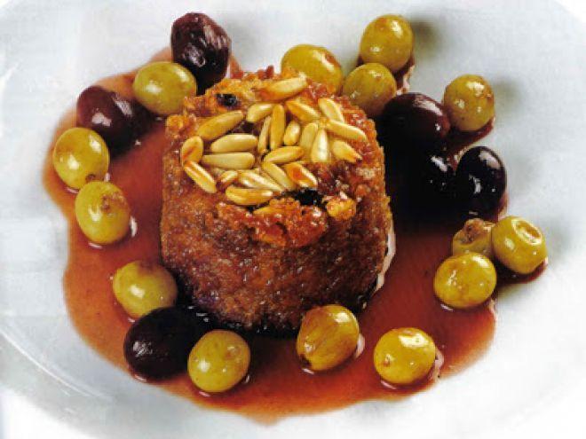 Ricetta Dessert : Pudding alla cannella e uva da Mbelen