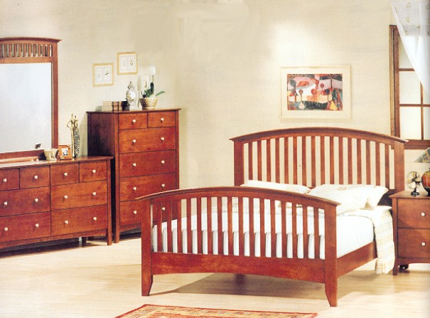 mission style bedroom furniture cherry  bedroom furniture