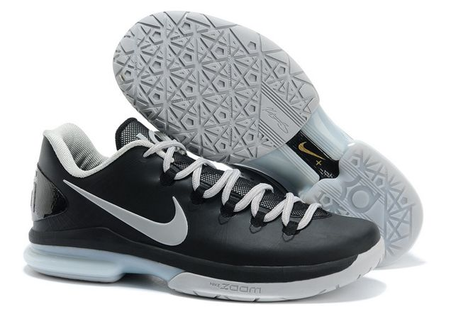 black and white kd shoes