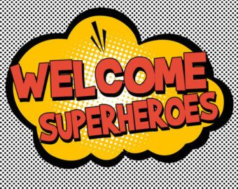 Image result for welcome back superheroes