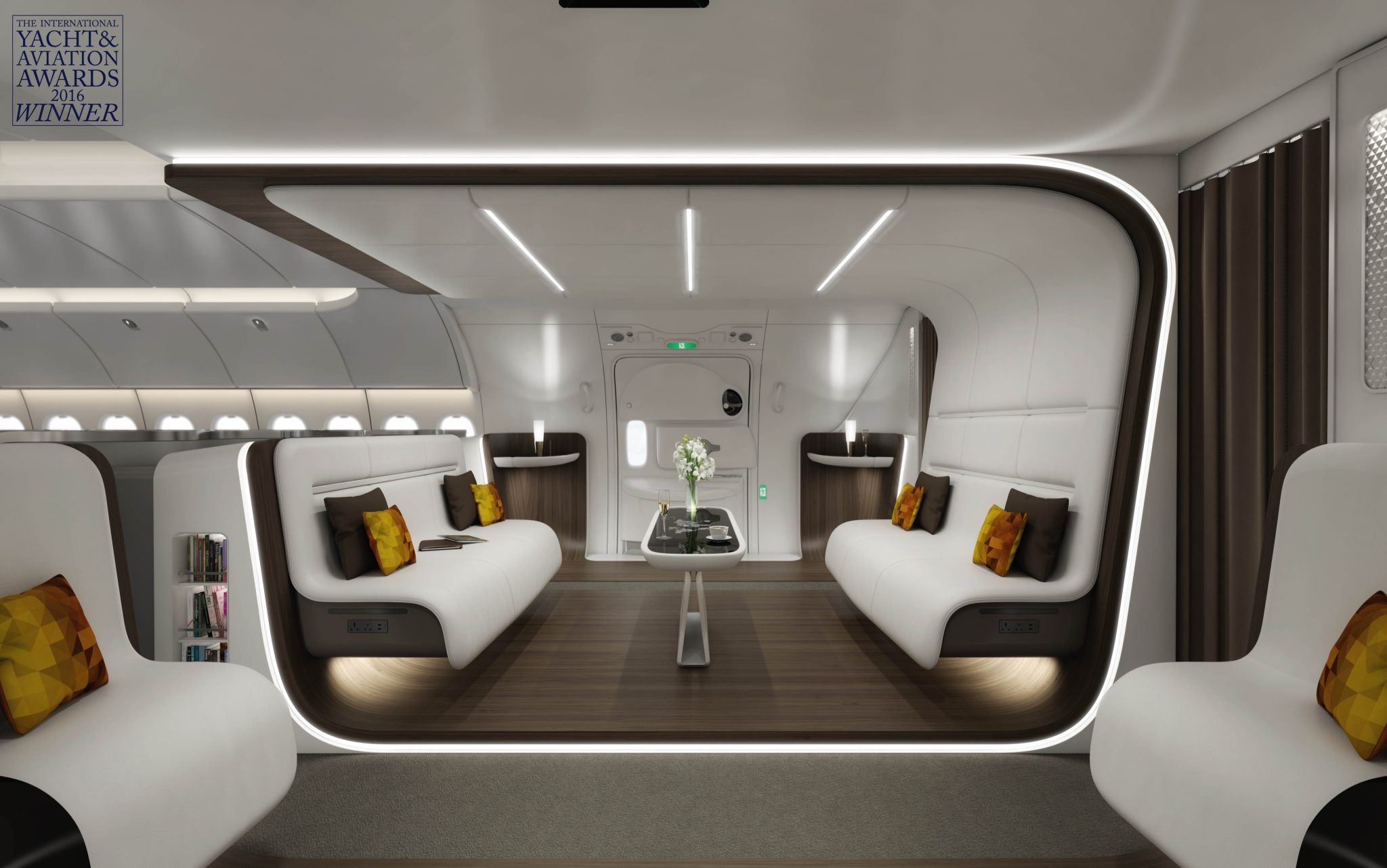 Image result for aircraft interior concept 2017 Airplane