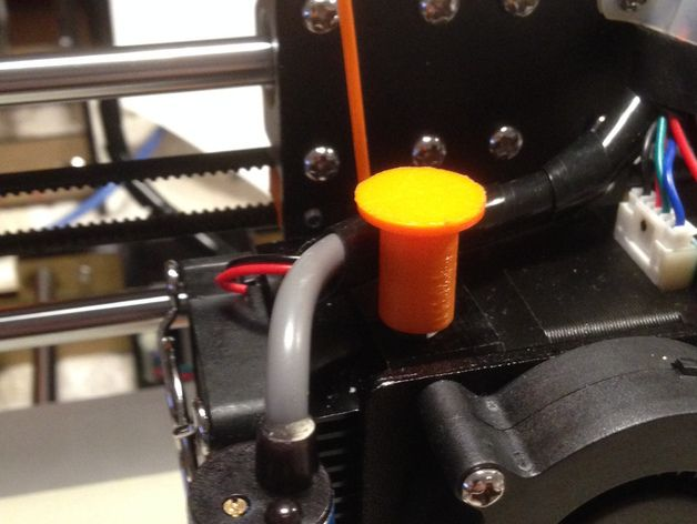 A simple button to make it easier to change filament by