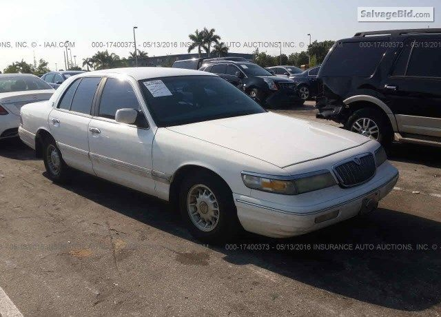 1995 Mercury Grand Marquis On Online Auction By May 19 2016