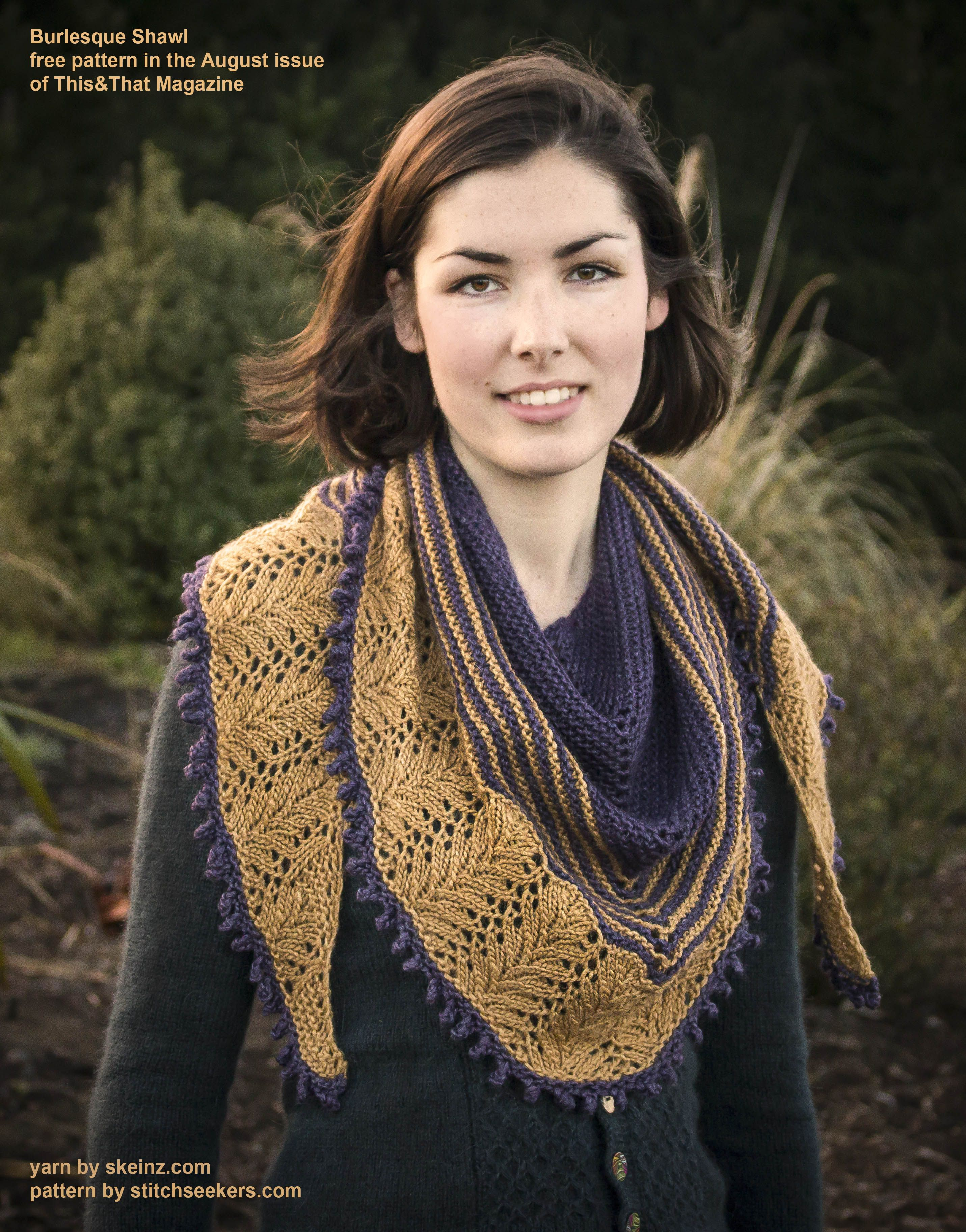 Burlesque shawl knitting patterns pinterest knitting ravelry burlesque shawl pattern by rhiannon mcculloch bankloansurffo Gallery